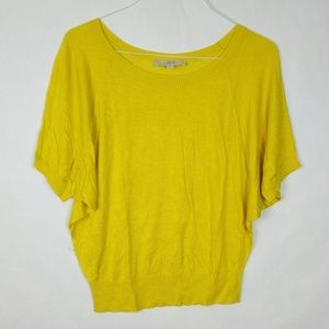 LOFT Dolman Sleeve Silk Blend Thin Knit Sweater